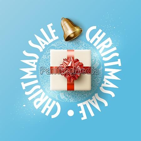 chrstmas sale design template