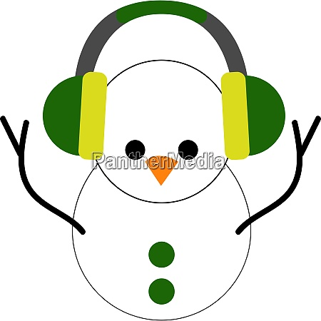 clipart of the cute little snowman