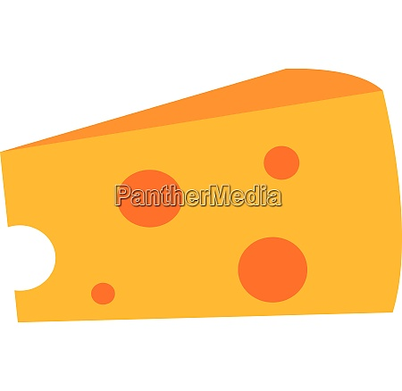 cheese tasty vector or color illustration