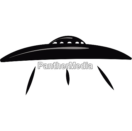 flying saucer icon vector or color