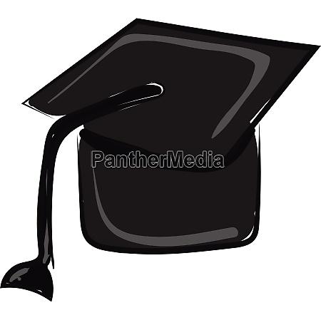 graduate cap vector or color illustration