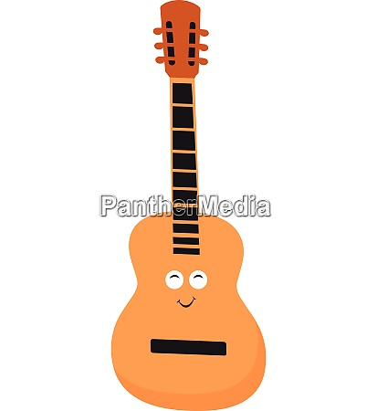 guitar vector or color illustration