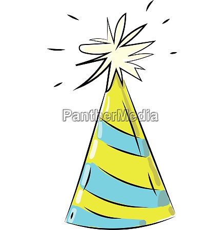 holiday hat vector or color illustration