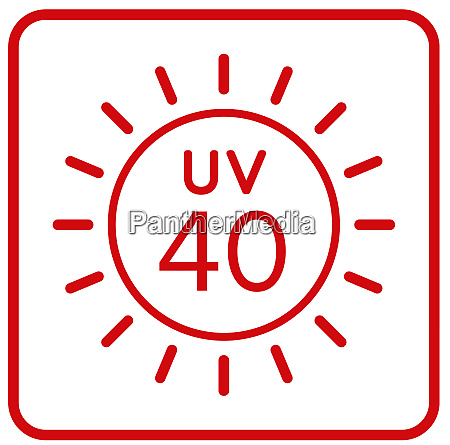 uv 40 ultra violet ray protection