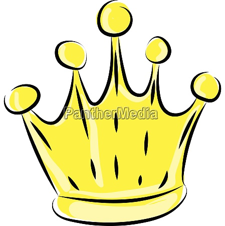image of crown vector or color