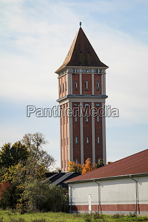 the former water tower of aken