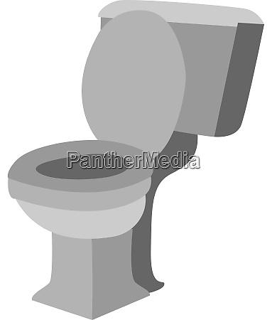 toilet seat illustration vector on white