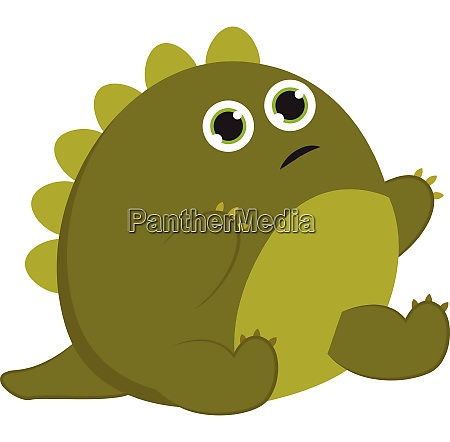 image of baby dinosaur vector or