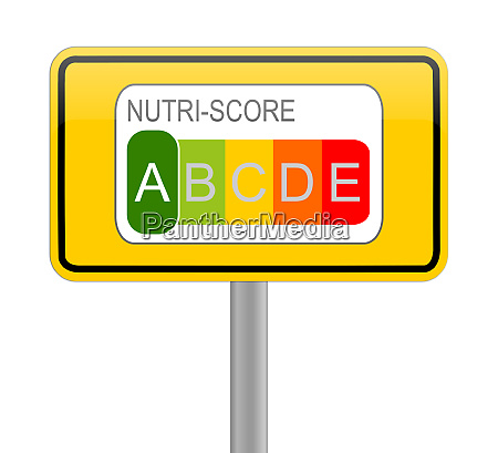 nutri score label 5 colour nutrition