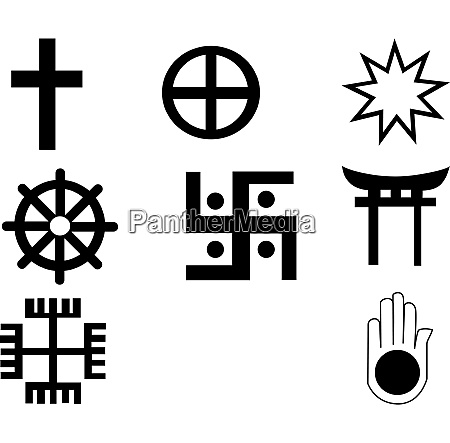 different symbols symbols are fully