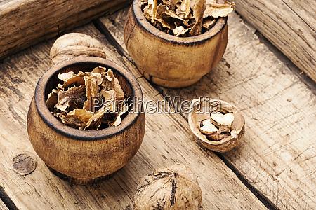 walnut medicinal partitions