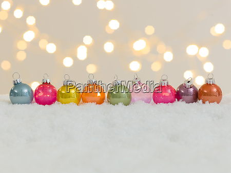 many different christmas items on white