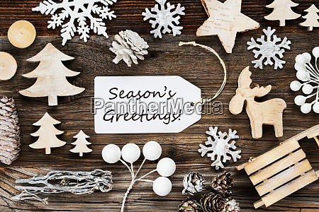 label frame of christmas decoration text
