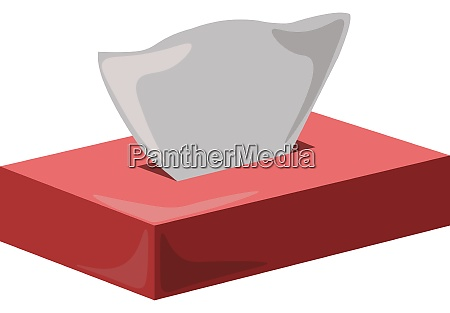 napkin illustration vector on white background