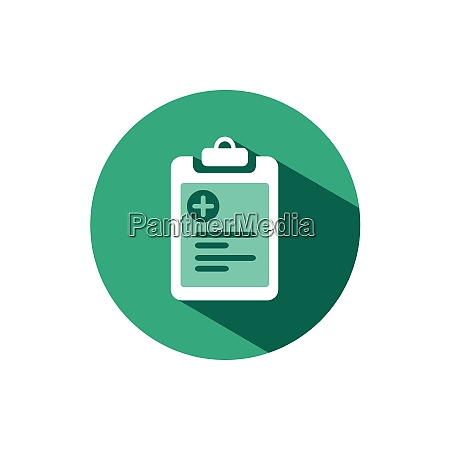 pharmacy inventory list icon with shadow