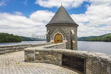 saville dam barkhamsted reservoir east hartland