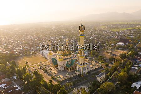aerial view of mataram islamic center
