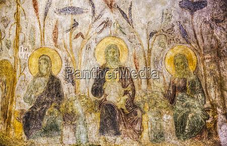 religious artwork depicting religious figures russia