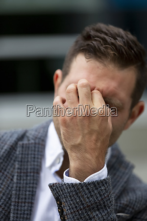 businessman under stress vancouver british columbia