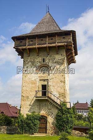 tower humor monastery 1530 manastirea humorului