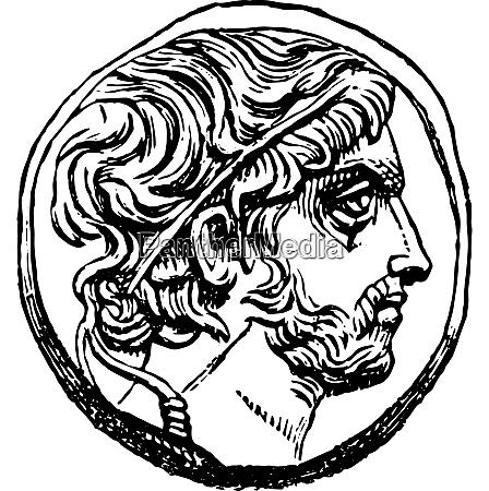 medal of philip v of macedon