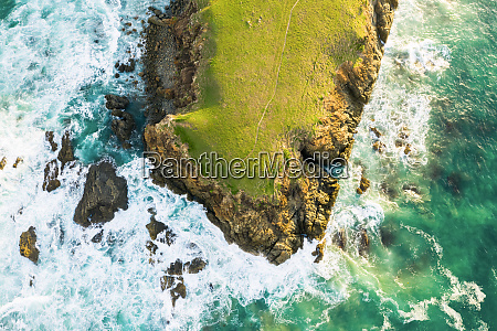 aerial, view, of, bare, bluff, , sandy - 27542556