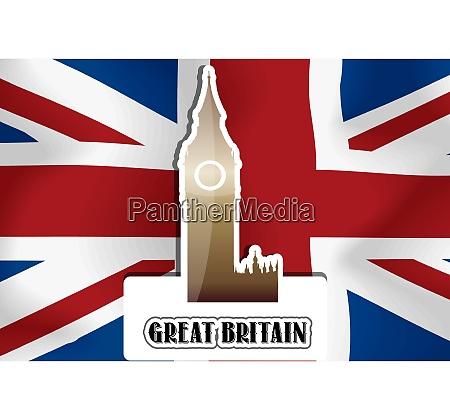 united kingdom great britain illustration