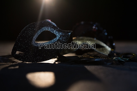 masquerade masks on stage