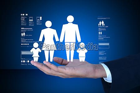 man present family icon