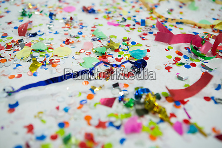 various decorations on white background