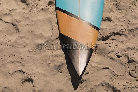 surfboard on beach