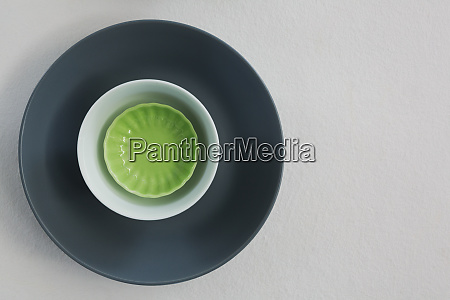 various bowls on white background