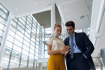 young business people standing in the