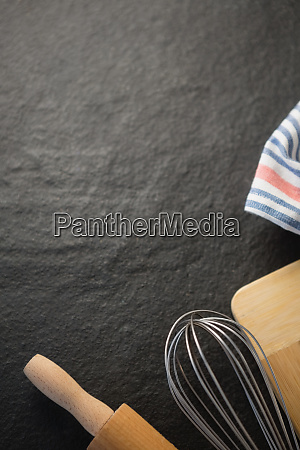 cropped image of kitchen utensils
