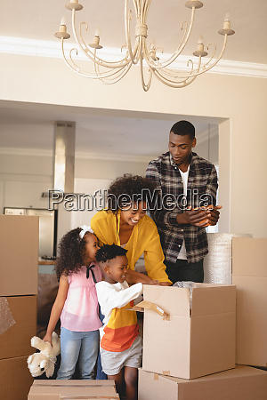 happy, african, american, parents, with, their - 27590043