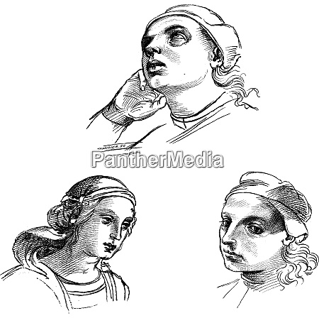 pen drawings by raphael at the