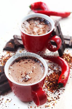 cocoa with chilli