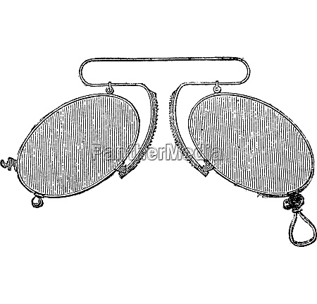 glasses a nose clip spacing