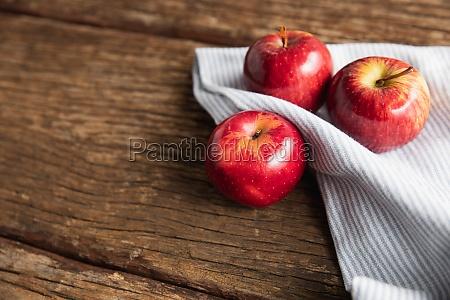 autumn apple harvest flat lay