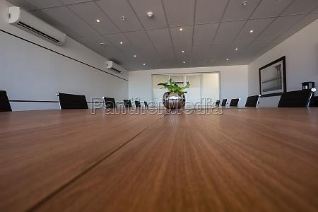 empty modern board room