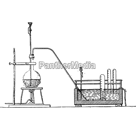 schloesing apparatus for the determination of