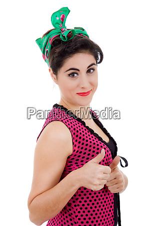 pinup woman