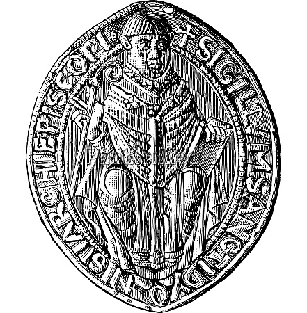 seal of the abbey of saint