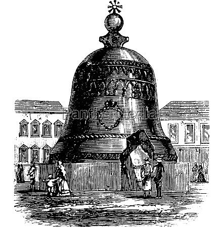 tsar bell or tsarsky kolokol or
