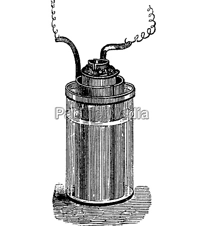 daniell cell or gravity cell vintage