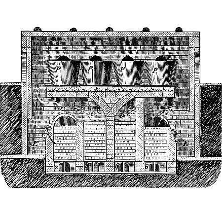 siemens oven vintage engraving