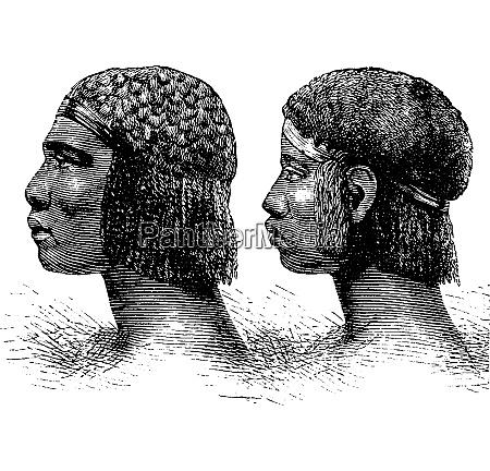 huambo man and woman of angola