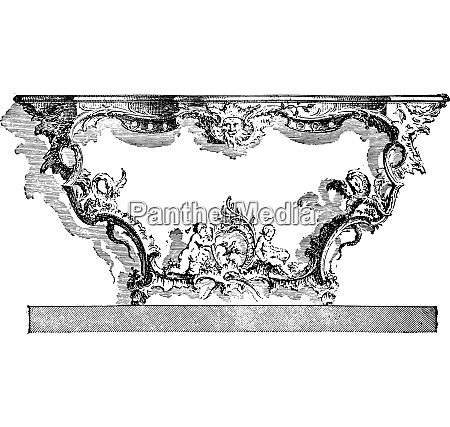 console apply after cuvillies eighteenth century