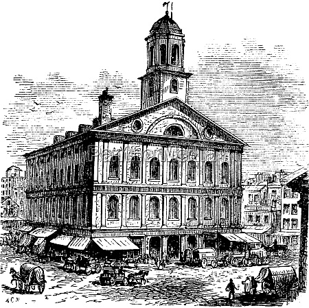 faneuil hall or the cradle of