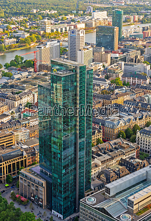 aerial, view, over, frankfurt, and, its - 27614477